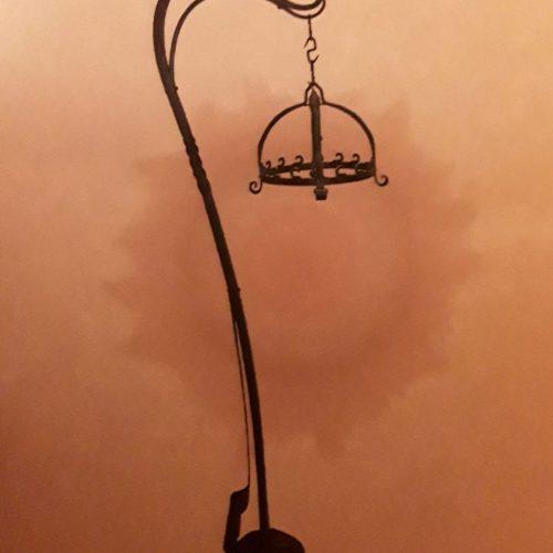 lustre de ferronnier